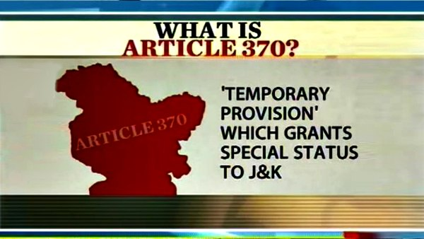 What is Article 370? Simply Explained