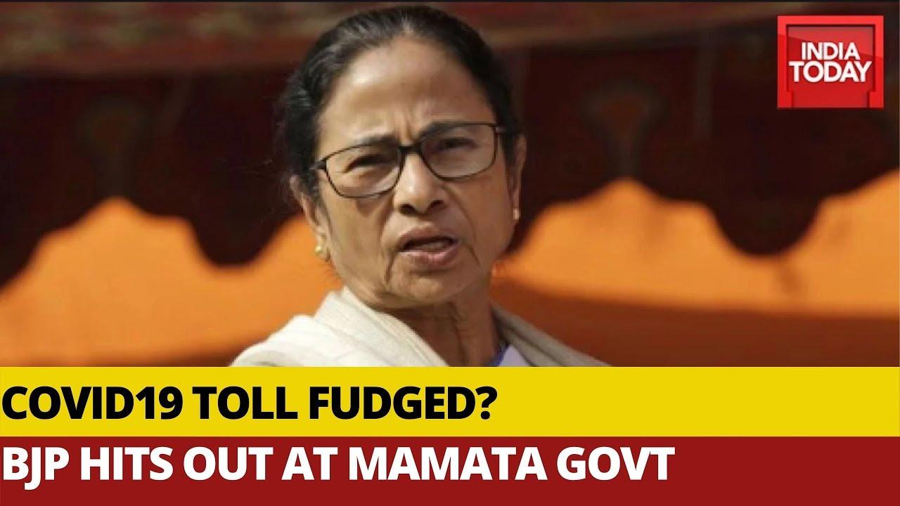 BJP Hits Out At West Bengal Govt, Says Mamata Didi Manipulating Covid19 Data