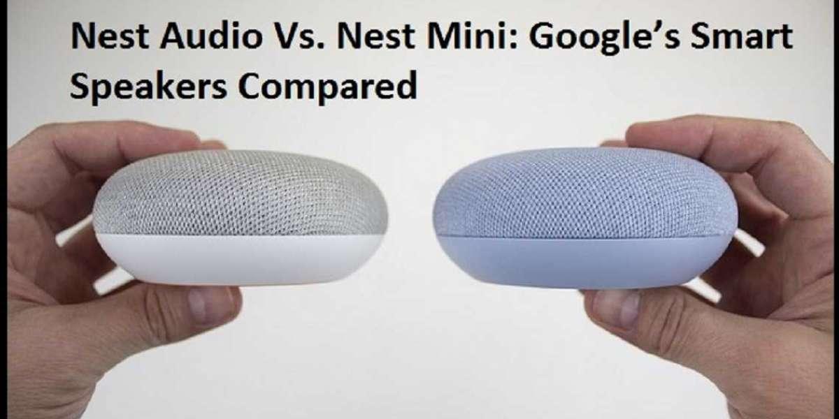 Nest Audio Vs. Nest Mini: Google's Smart Speakers Compared