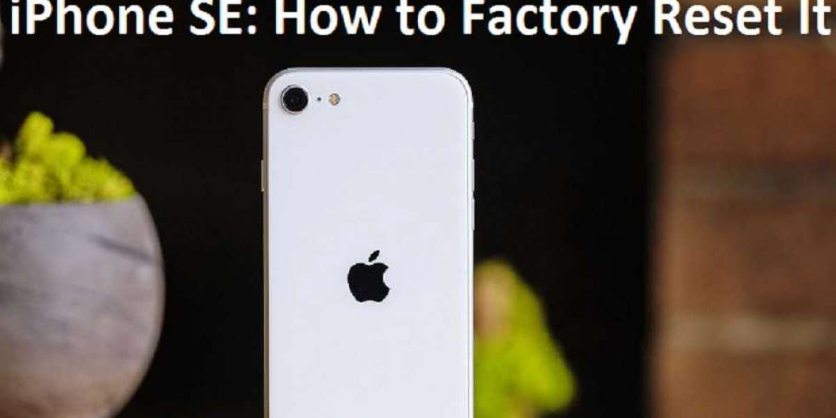 iPhone SE: How to Factory Reset It
