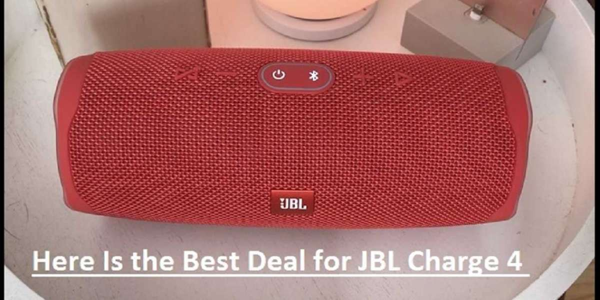 Here Is the Best Deal for JBL Charge 4