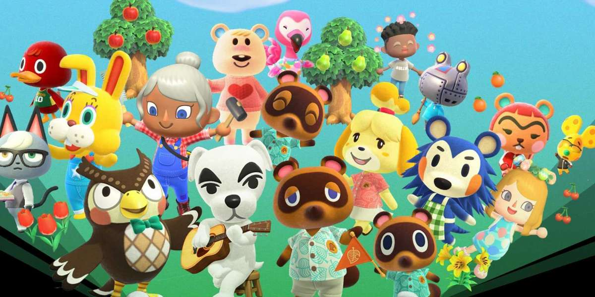 In different Animal Crossing New Horizons new