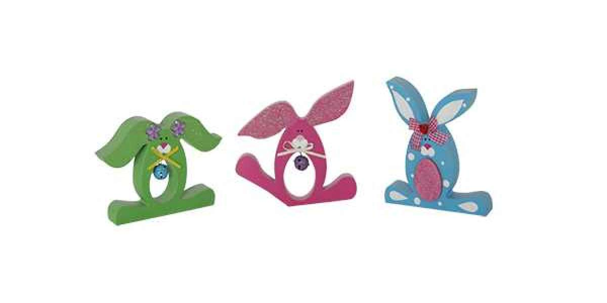 The Tutorial Of Making Easter Crafts Finger Puppets