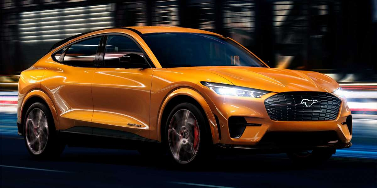 2022 Ford Mustang Mach-E GT fully-electric SUV